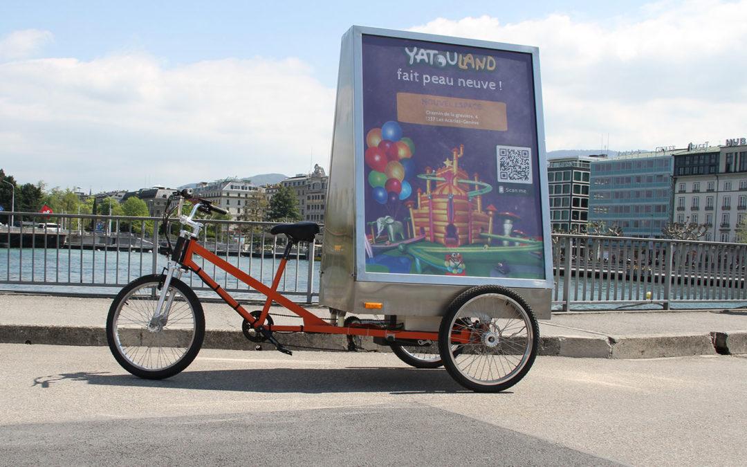 MediaShift et Yatouland : campagne  publicitaire en vélos électriques