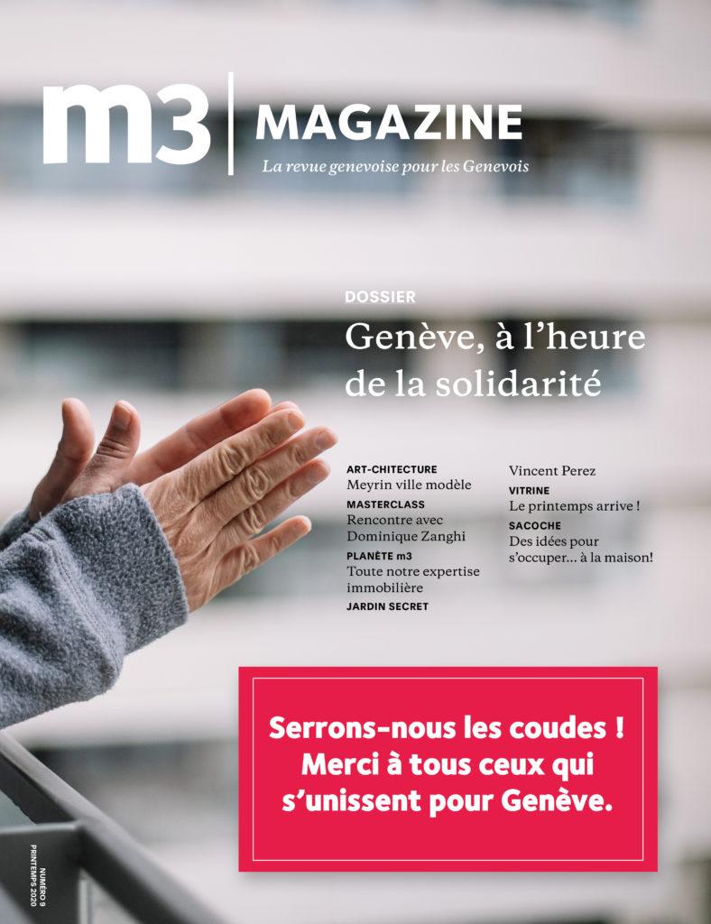 Campagne MediaShift de distribution des magazines du groupe M3